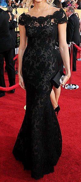 Vestido Festa Adrienne Boy in Lace black dress