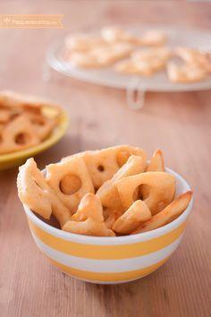 Galletas con queso chedar