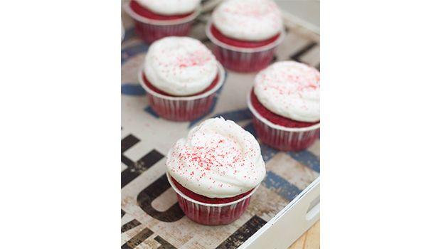 Red Velvet cupcakes de Alma Obregón muy faciles!!