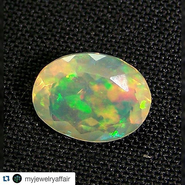 #Repost @myjewelryaffair with @repostapp  Well here is our insane rainbow fire Ethiopian Opal Faceted Gemstone selected by our customer for the custom made cluster  pendant in matching to their Custom made cluster faceted Opal ear-studs !!! Hope this suits well for the customer and into the Jewelry Cluster mount that we have designed as a pendant.  #ethiopianopal #facetedopal #opalnecklace #opal #opalpendant #mineral #gemology #naturalopal #naturalgem #jewelrysupply #jewels #oneofakindgem…