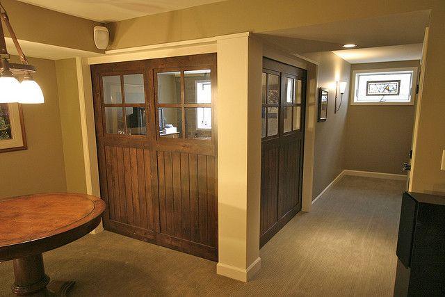 50 best images about basement ideas on pinterest for Basement sliding doors