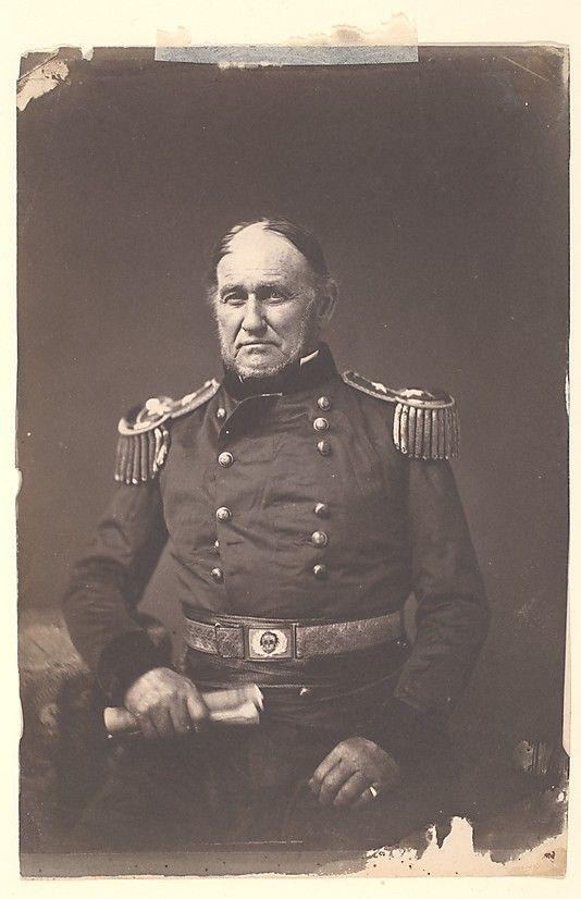 Major General David E. Twiggs Mathew B. Brady  ca. 1859