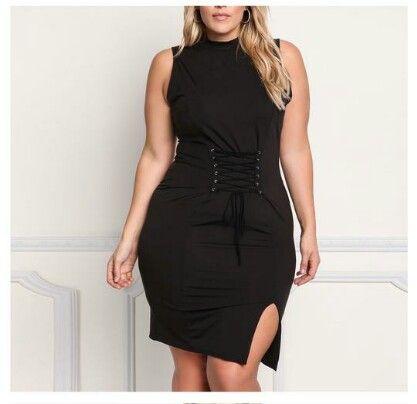 2017 Fashion  Sleeveless Sexy Big Size Dress Women Dress Bandage Plus Size Women Clothing Sexy Party Dress