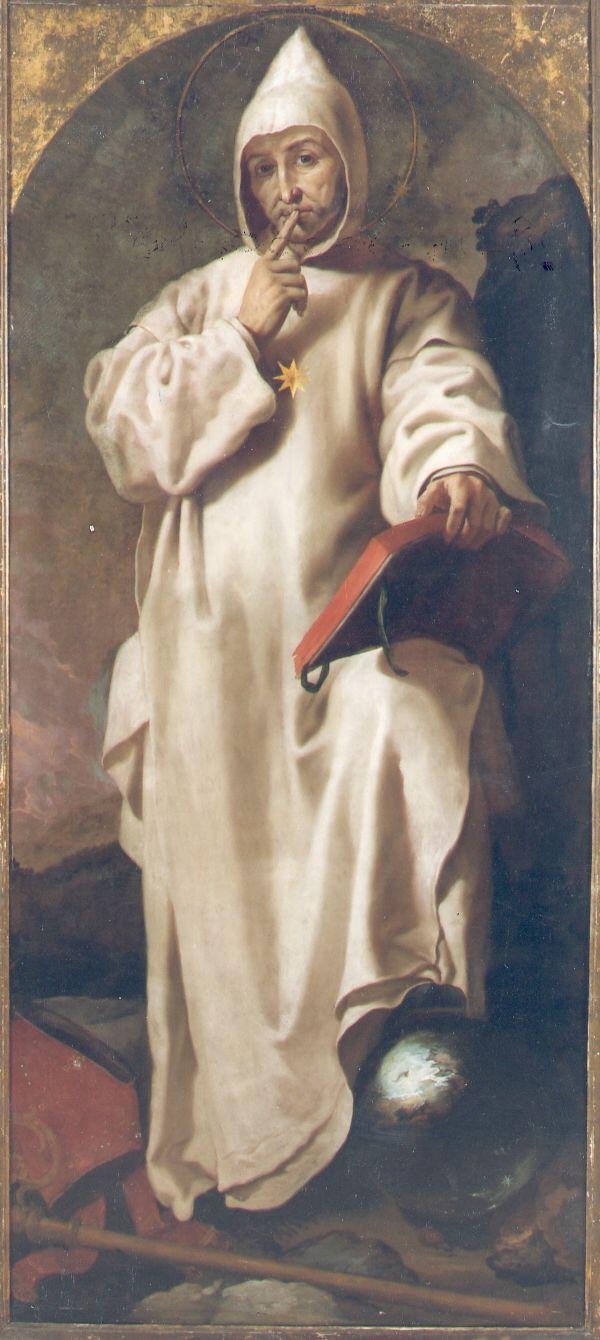 Saint Bruno / San Bruno // 1625 – 1627 // Francisco Ribalta // Cartuja de Portacoeli, Serra // Museo de Bellas Artes de Valencia // #monk #silence