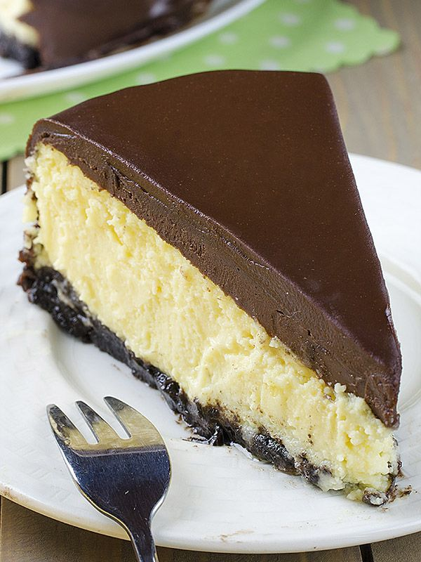 Bailey's Irish Cream Cheesecake | Red White Apron