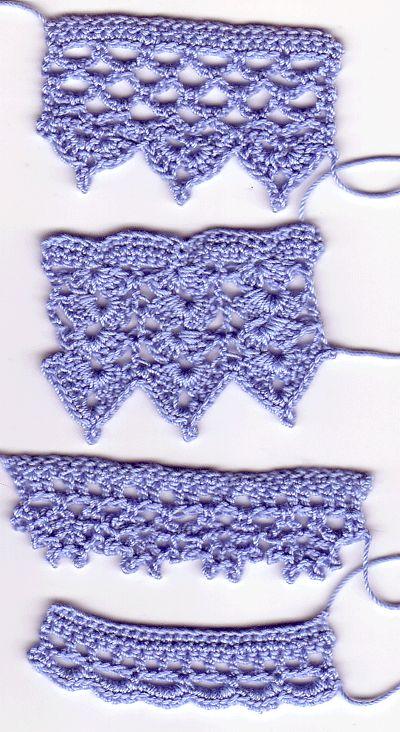 Handdoekenrek Keuken Landelijk : Crochet Edging Patterns