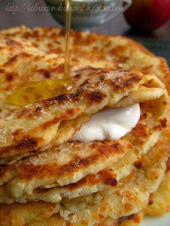 Финские творожно-яблочные лепешки — Вкусно!