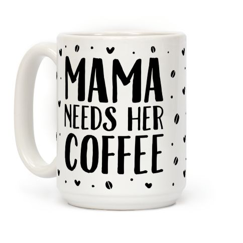 This coffee mug is perfect for the mom who needs at least one cup of coffee to survive the kids and all the appointments and soccer practices.