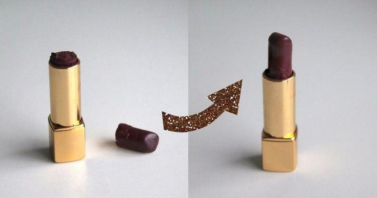Cómo reparar un labial roto paso a paso, ¡te lo contamos aquí!