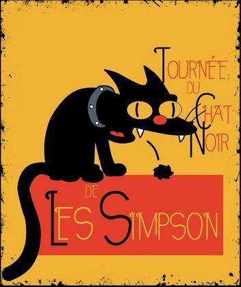 La Tournée du Chat Noir: Les Simpson