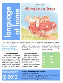 Beep Beep Sheep In A Jeep-book for kids, by Nancy E. Shaw,