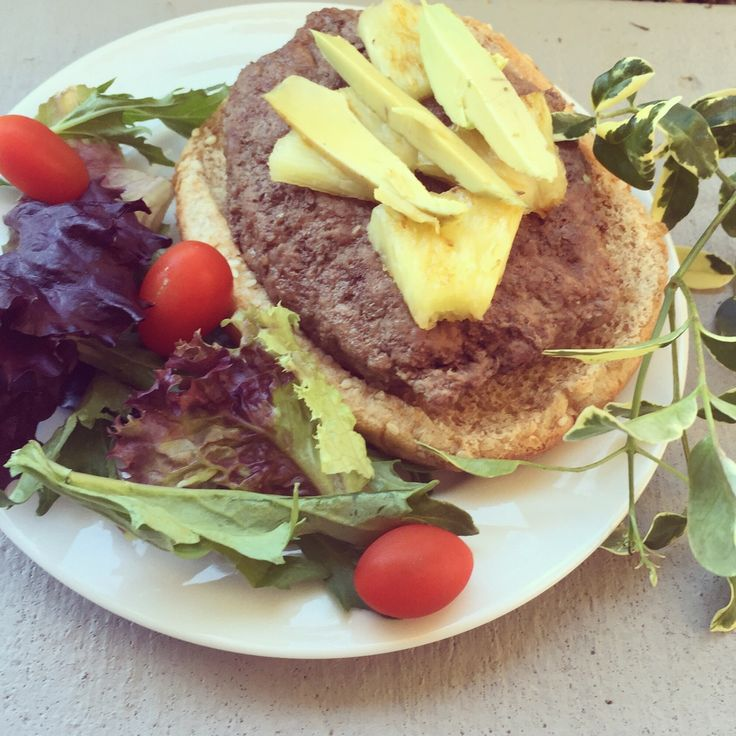 21 Day Fix: Healthy Hawaii Burger ~ pureatz.com