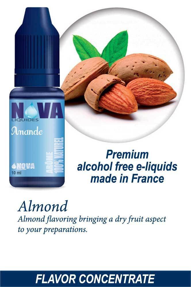 Almond - Flavor concentrate, Nova Liquides e juice - e liquid e liquid flavor…