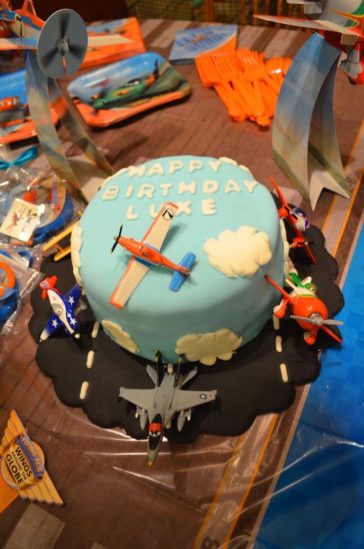 Disney Planes cake, DIY Planes birthday cake