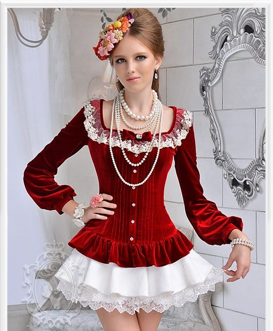 Fabric & Material: Polyester     Color: Wine Red, Royal Blue     Condition: 100% Brand New Package Contents: Blouse     Detailed Size:  S: Length 58cm, Bust 81cm, Waist 62cm, Shoulder 38cm, Sleeve 62cm. M: Length 59cm, Bust 85cm, Waist 66cm, Shoulder 39cm, Sleeve 62cm. L: Length 60cm, Bust...
