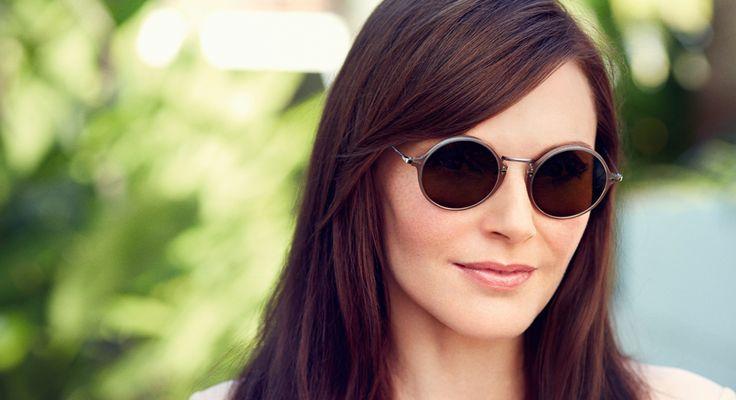 Sommerens supertrendy, runde solbriller fra #Persol