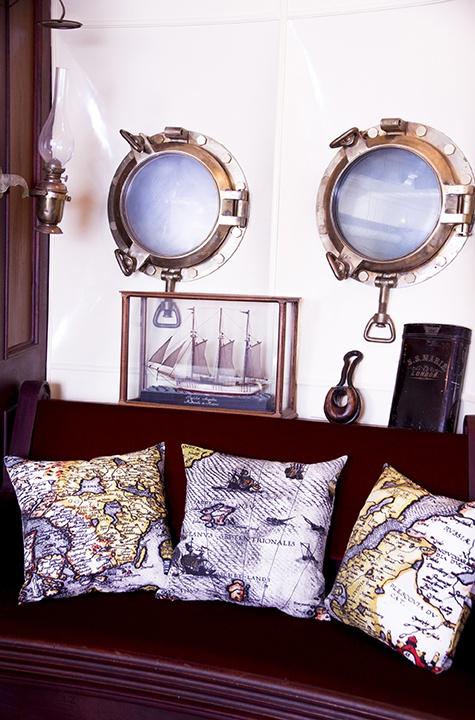 Pohjola pillowcases. Design John Nurminen Foundation