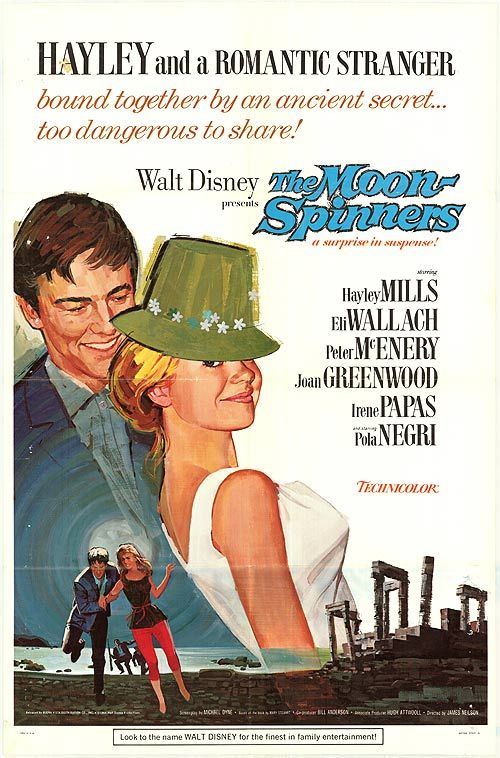 The Moon-Spinners - I had such a crush on that guy ;)