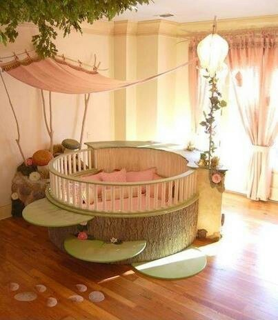 Little fairy babby room