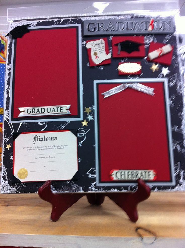 graduation scrapbook layouts | Graduation Layout