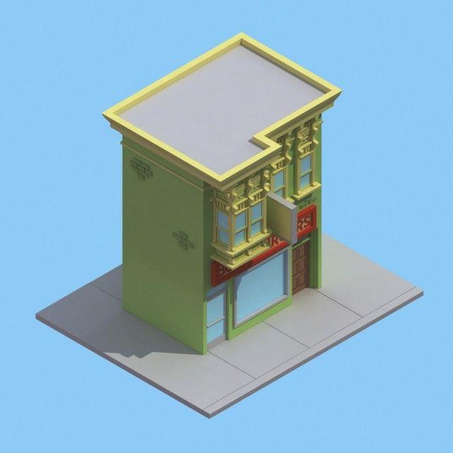 30 Isometric Renders in 30 Days by Michiel van den Berg on www.fubiz.net/...
