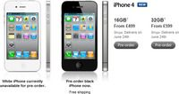 iPhone 4 Hits Pre-order, Sold Unlocked On Apple UK [Update: Tesco Joins In] If you have your eye on an iPhone 4 the sweet spot could be not buying it from any of the UK's major networks.