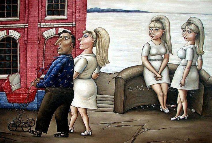 Потрясающие картины донецкой художницы Анжелы Джерих