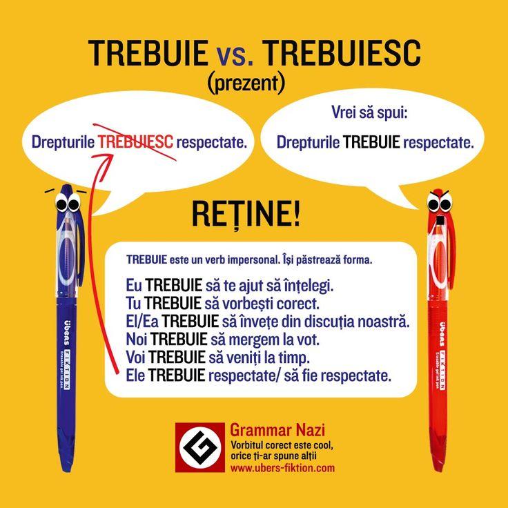 #trebuie vs. trebuiesc #grammarnazi #corect