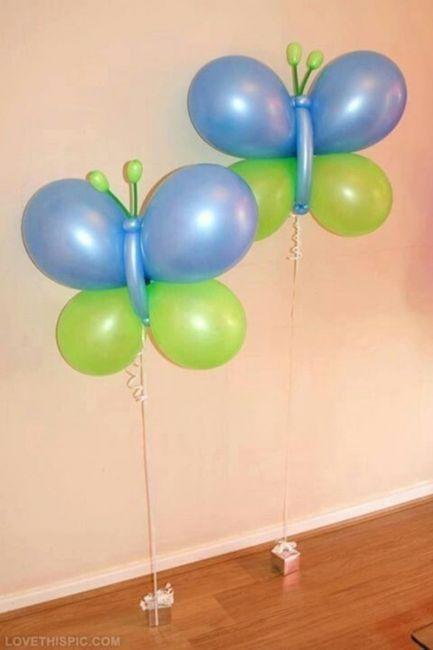 DECORAÇÃO DE FESTA INFANTIL COM BALÕES: 48 Ideias
