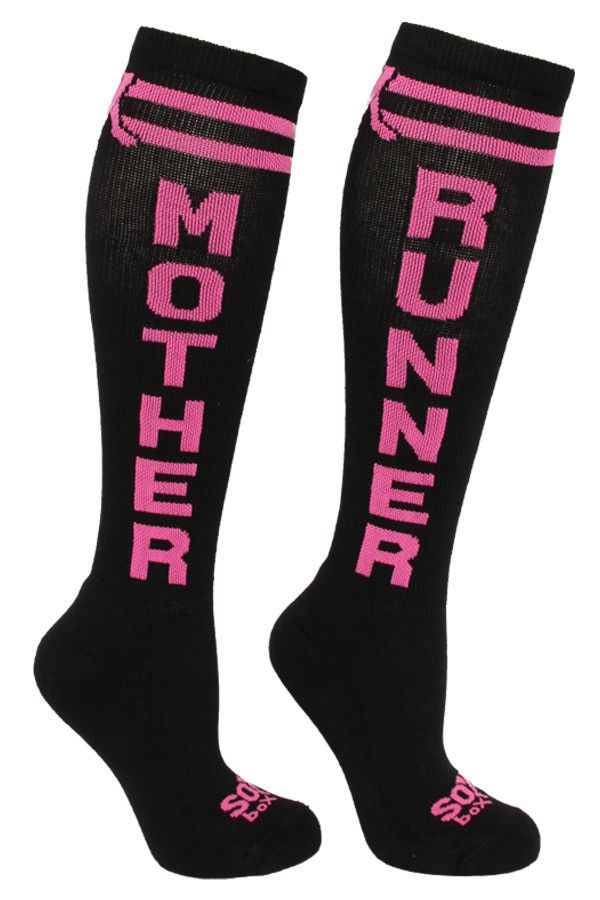 Attention all mothers, aspiring mothers, or lovers of mothers! Our new Mother Runner sox epitomize these merry souls whose constant motion, service before self and unique procreative ability make them