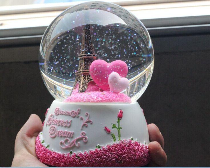 Купить товарБесплатная доставка 100 x 150 мм снег хрустальный шар эйфелева башня музыкальная шкатулка для друга подарки на день рождения самый безопасный пакет с разумной ценой в категории Кристаллистические ремеслана AliExpress.                            1, хрустальный шар:                                                               1, ко