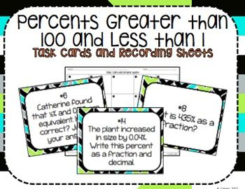 125 best Decimals/Fractions/Percents (Grade 6) images on Pinterest ...