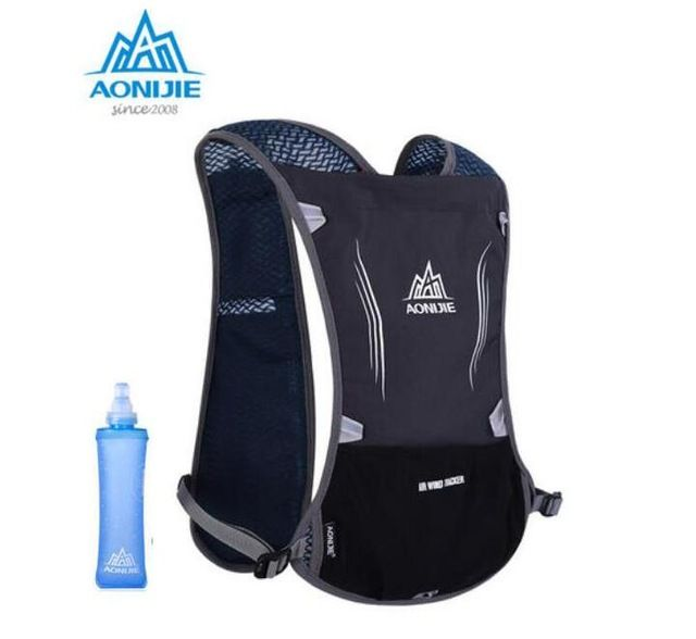 AONIJIE Outdoor Sports Backpack Functional and Ultralight Climbing Marathon Cycling Bags Unisex Sports Shoulder Pack Water Bag