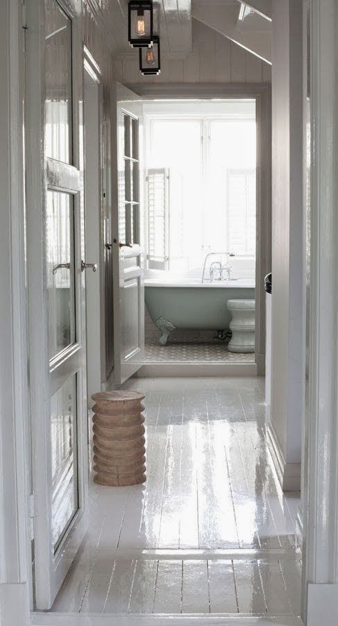 high gloss white floors color crush | Search Results | La Dolce Vita