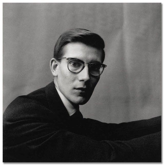 Yves Saint Laurent by Irving Penn, 1957
