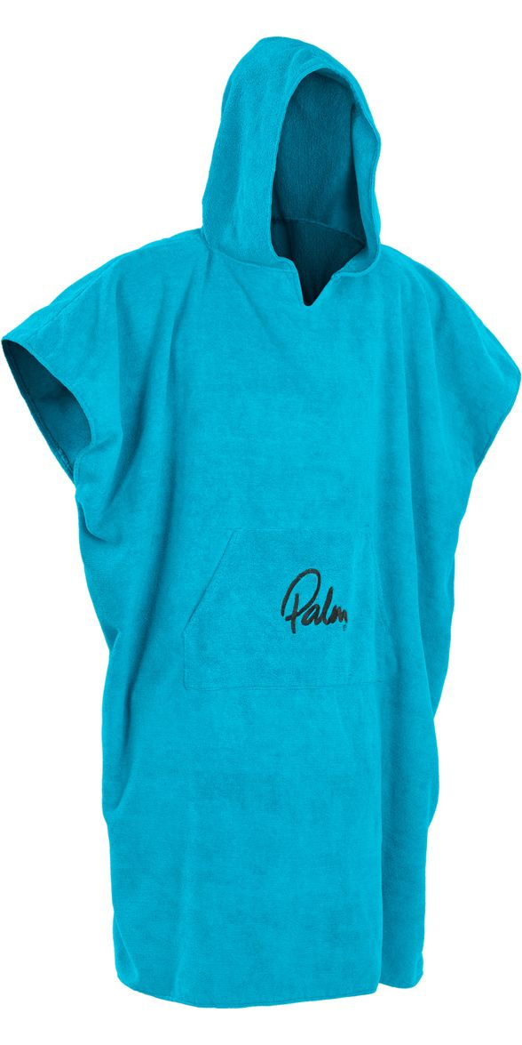 2018 Palm Hooded Changing Robe Poncho Blue 11847 - 11847 - Accessories - Canoe Kayak - by Palm - Palm