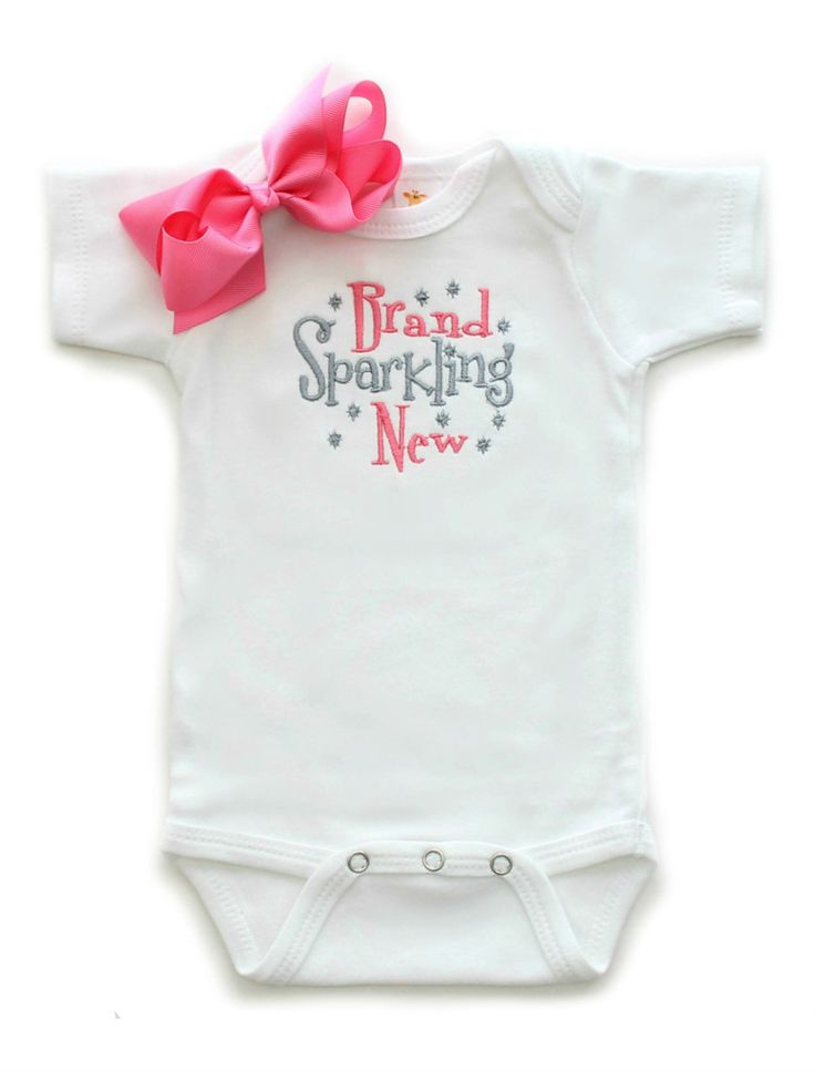 Brand Sparkling New Baby Girls esie Sayings Boutique