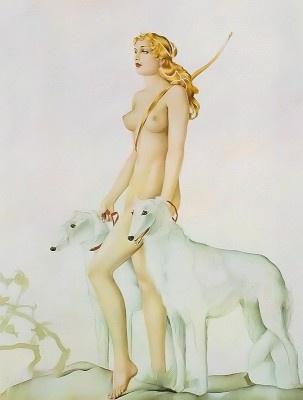 Diana by Alberto Vargas  •  San Francisco Art Exchange