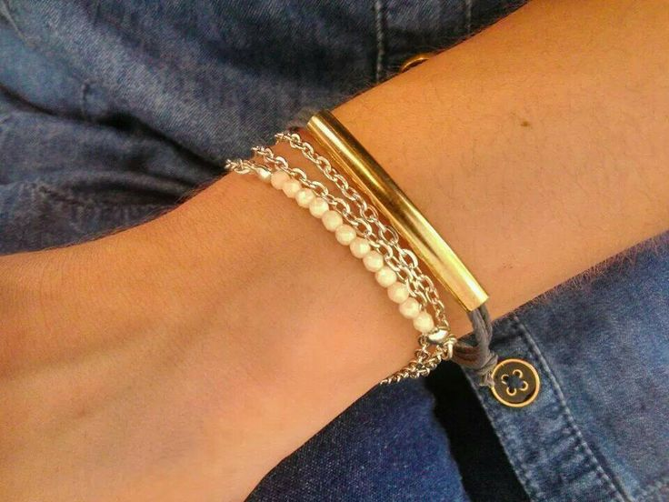 Gold Kaia Bracelet & Spring Desire Bracelet..  Perfect Combo