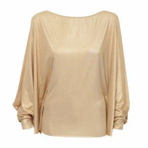 In.na - złota bluzka