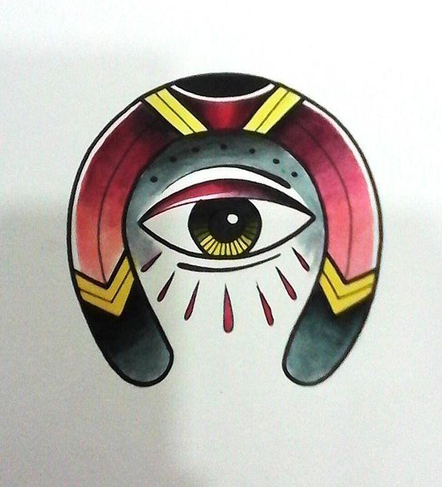 KPO Flash TATTOO Mal de ojo 16 #kpo #bogota #tatuaje #ojo #herradura…