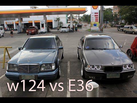 xander vs bismarck. my bmw e36 and mercedes w124 #BMW #cars #M3 #car #M4 #auto