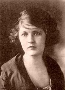 "Zelda Sayre Fitzgerald, born Zelda Sayre in Montgomery, Alabama, was an American novelist and the wife of writer F. Scott Fitzgerald. She was an icon of the 1920s—dubbed by her husband ""the first American Flapper"". Wikipedia              Born: July 24, 1900, Montgomery    Died: March 10, 1948, Asheville    Spouse: F. Scott Fitzgerald (m. 1920–1940)    Children: Frances Scott Fitzgerald"