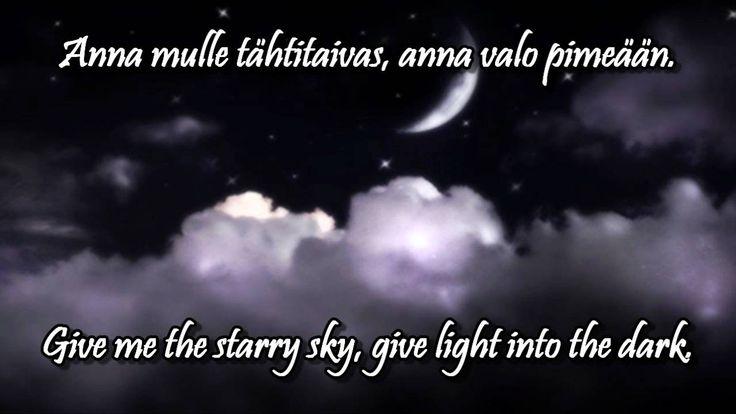 Katri Helena - Anna mulle tähtitaivas w/lyrics