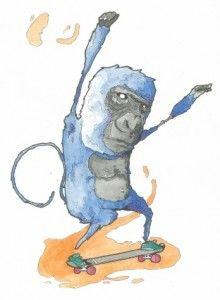 01 Skate Monkey
