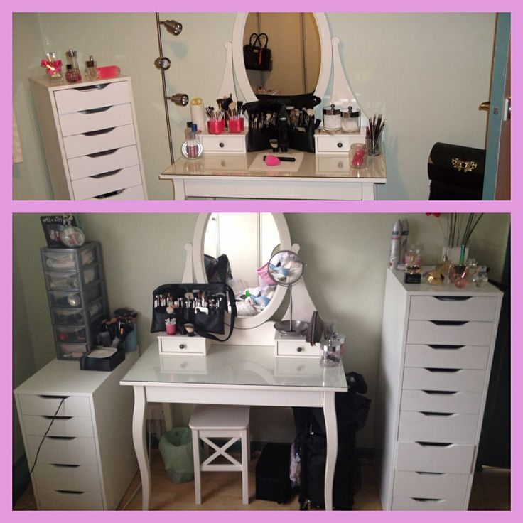 Before and after!!! I love these Alex drawers