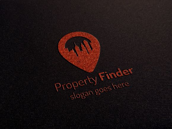 Property Finder Logo by GladicMonster on @creativemarket