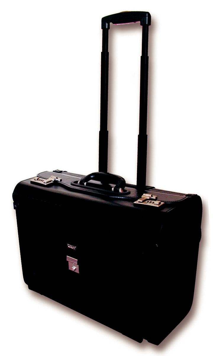 Laptop Pilot Case with Wheel (17 inch) @ R1,500 https://www.luggageladies.com/index.php?route=product/product&product_id=161 Features: Laptop Compartments, Twin Combination Lock, Carry Handle, Trolley Handle, PVC  Available in black.  #LuggageLadies #ValueForMoney #LaptopCase #PilotBag #Briefcase