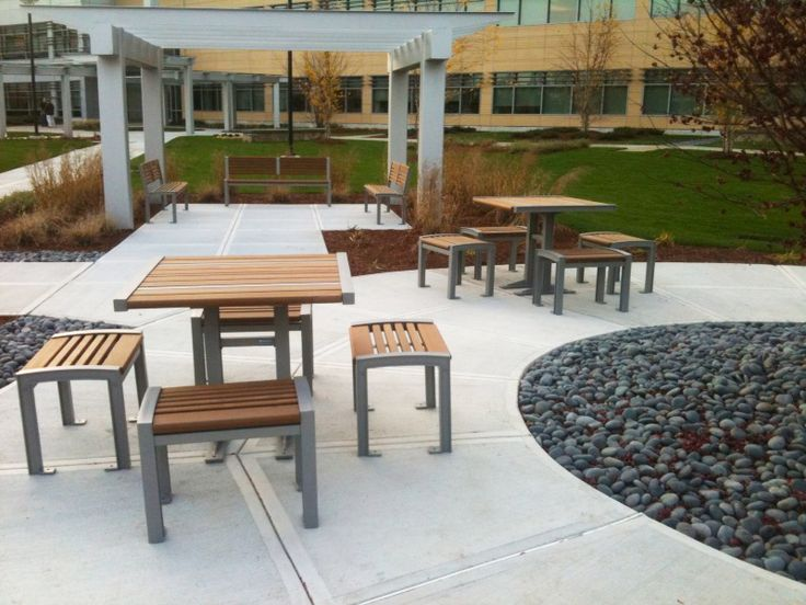 Check out Maglin's custom MLPT400 cluster seating in 3DS Courtyard in Waltham MA.