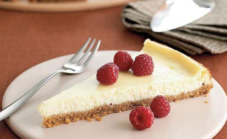 """Marco Pierre White's glorious grub: Frankie's cheesecake [""""This cheesecake is fabulous, Keva xo""""]"""